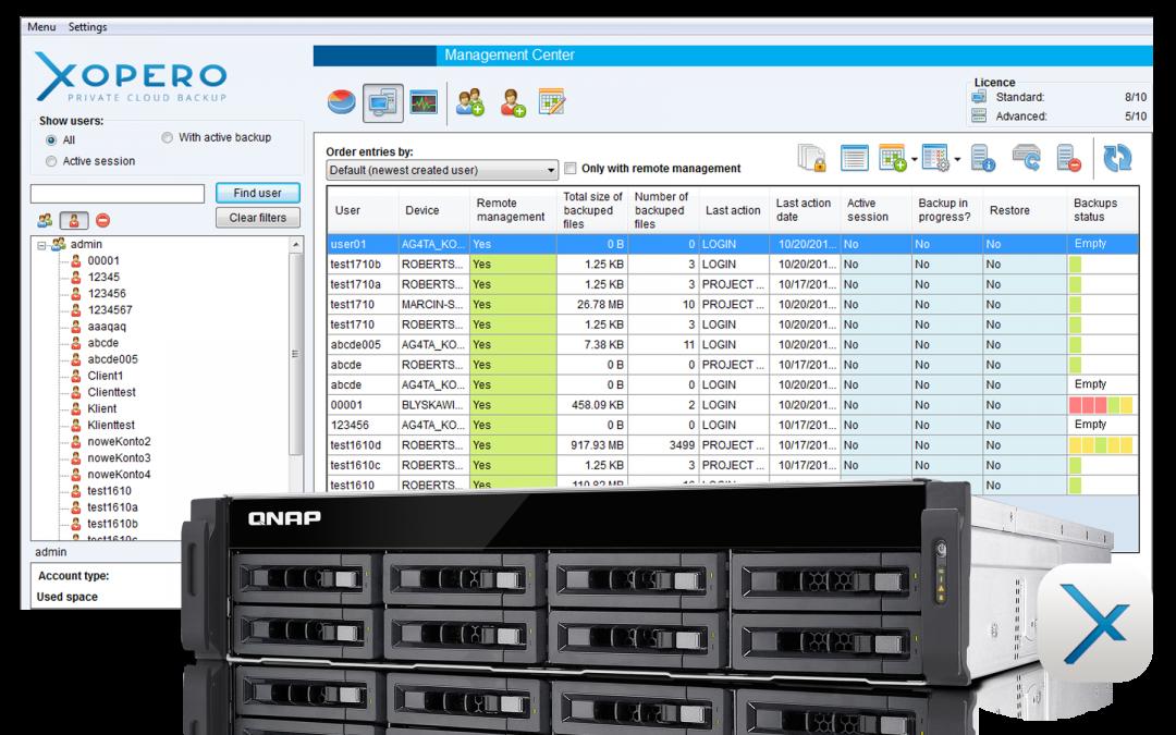 XOPERO – profesjonalne zabezpieczenie danych