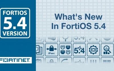 Nowy patch FortiOS 5.4.1 Build 1064 jest już dostępny do pobrania!